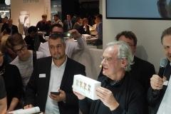 Klaus Mütherties IDS 2019 am Stand der SHERA